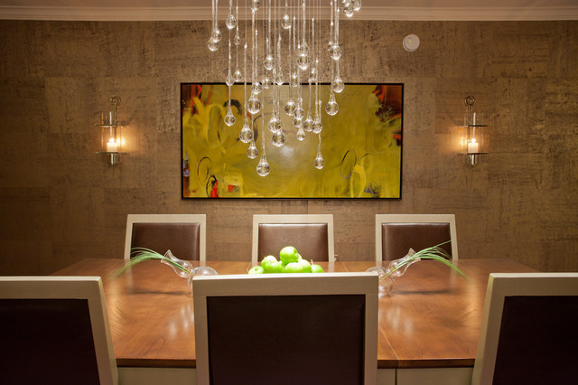 Dining Room Chandeliers Contemporary Photo