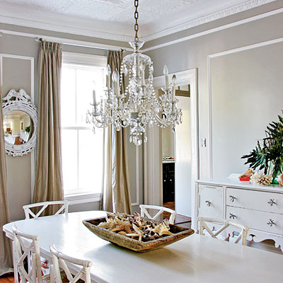 Dining Room Crystal Chandeliers Photo   1