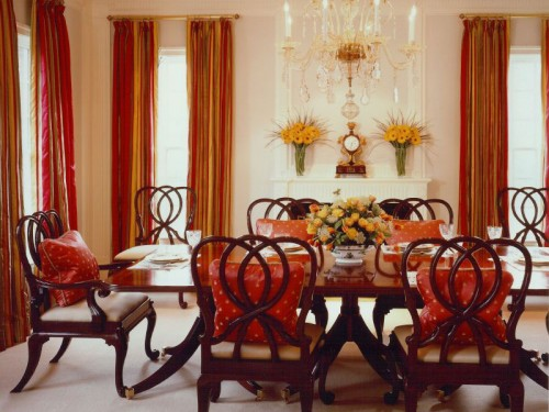 dining room curtain ideas photo - 2