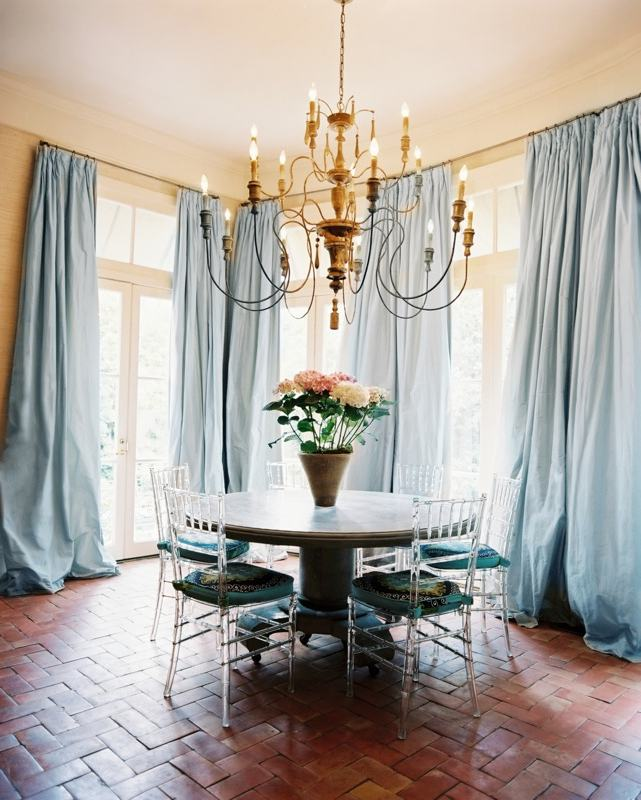 Dining Room Curtains Photo