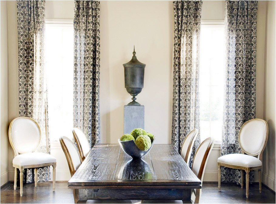 Dining room curtains ideas - large and beautiful photos. Photo to ...