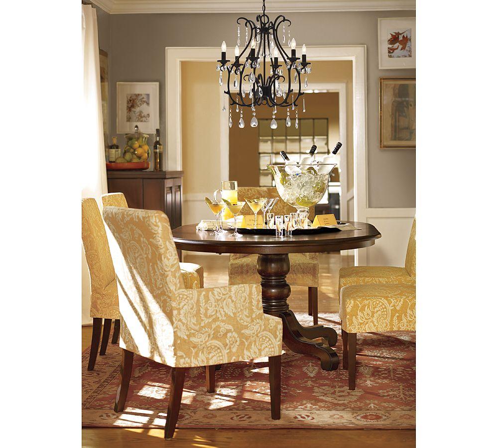 dining room drapery ideas photo - 2