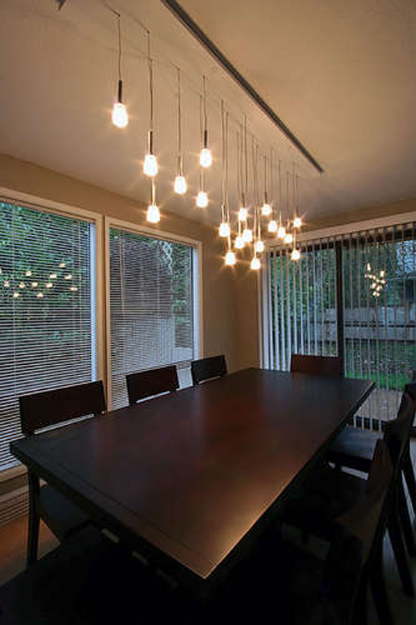 dining room hanging light fixtures photo - 1