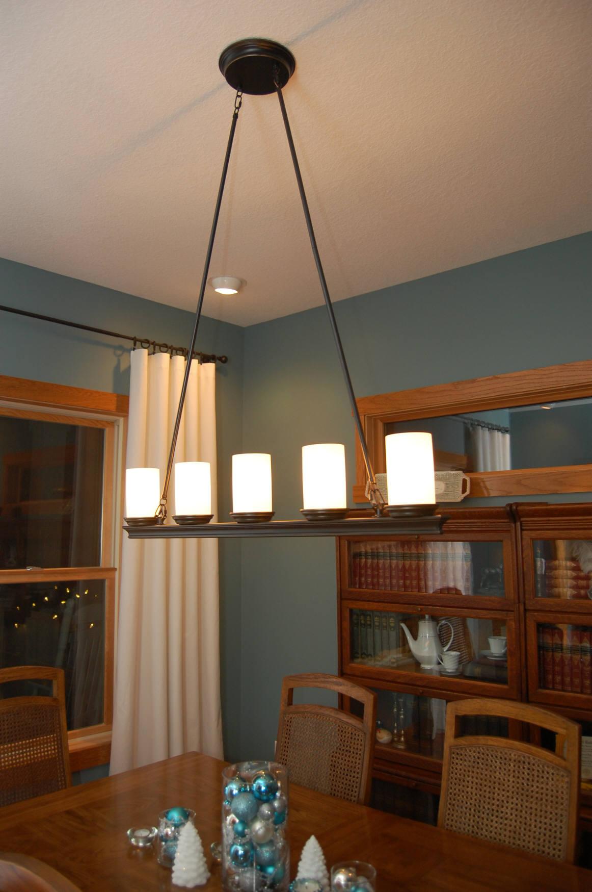 dining room light fixture photo - 1