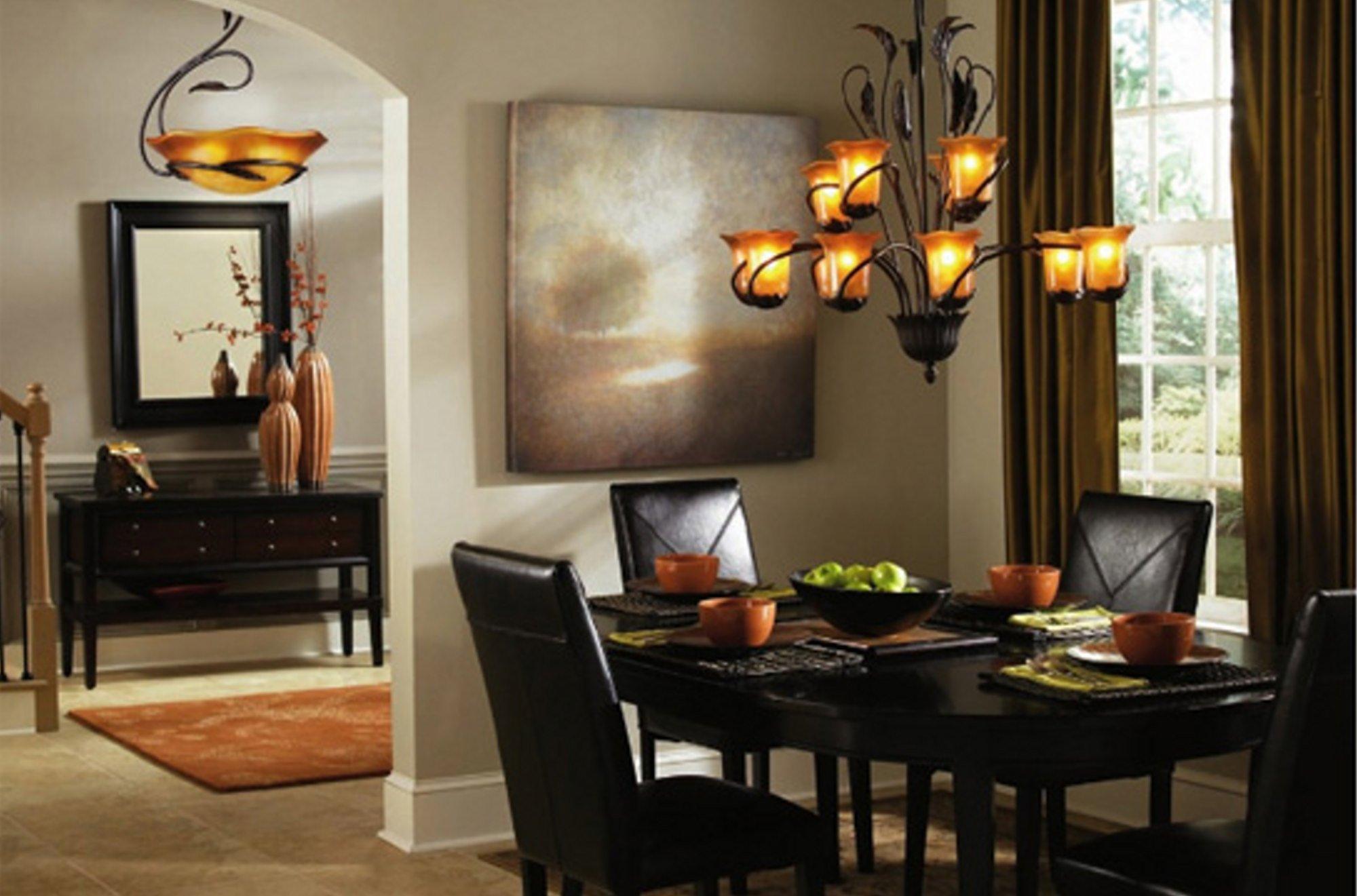 dining room lighting photo - 1