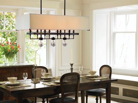 dining room lighting photo - 2