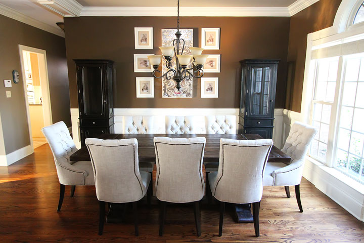 dining room makeover pictures photo - 1