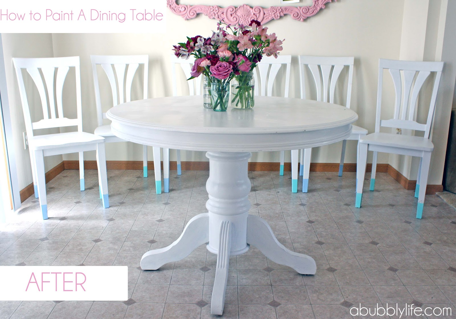 dining room makeover pictures photo - 2
