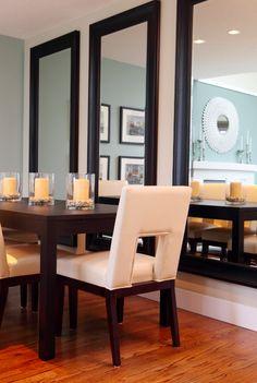 Dining Room Mirror Wall