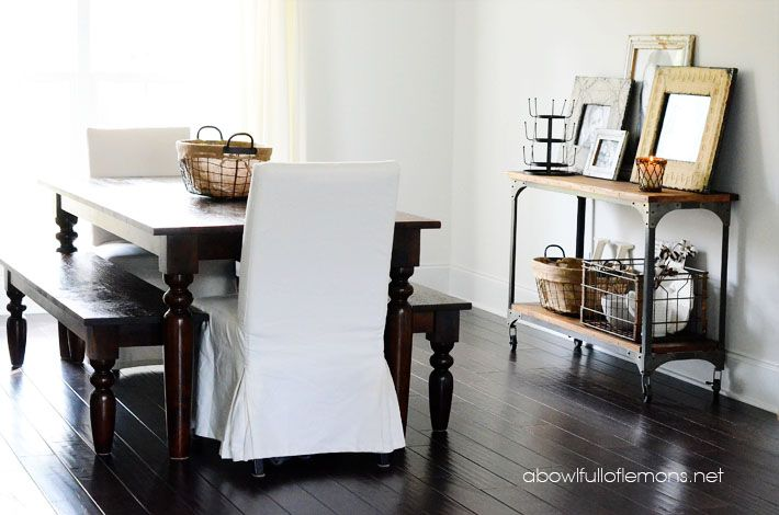 dining room organization photo - 1