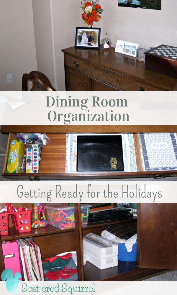 dining room organization photo - 2