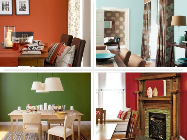 Interior paint colors for dining room