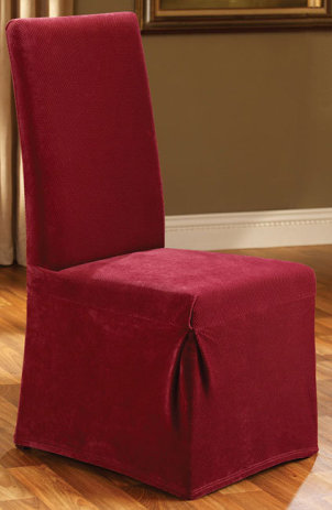 dining room seat cover photo - 1