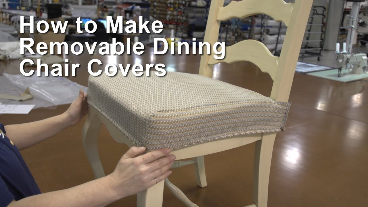 dining room seat cover photo - 2