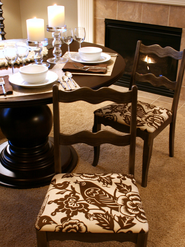 dining room seat cushions photo - 1