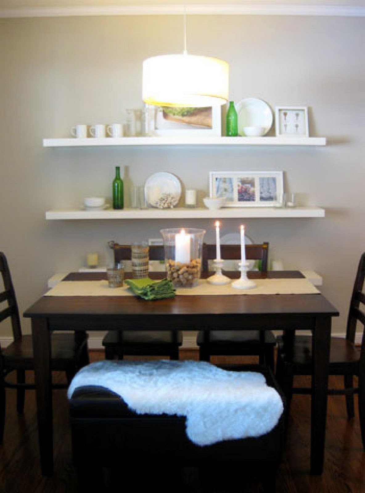 dining room shelves - large and beautiful photos. photo to select