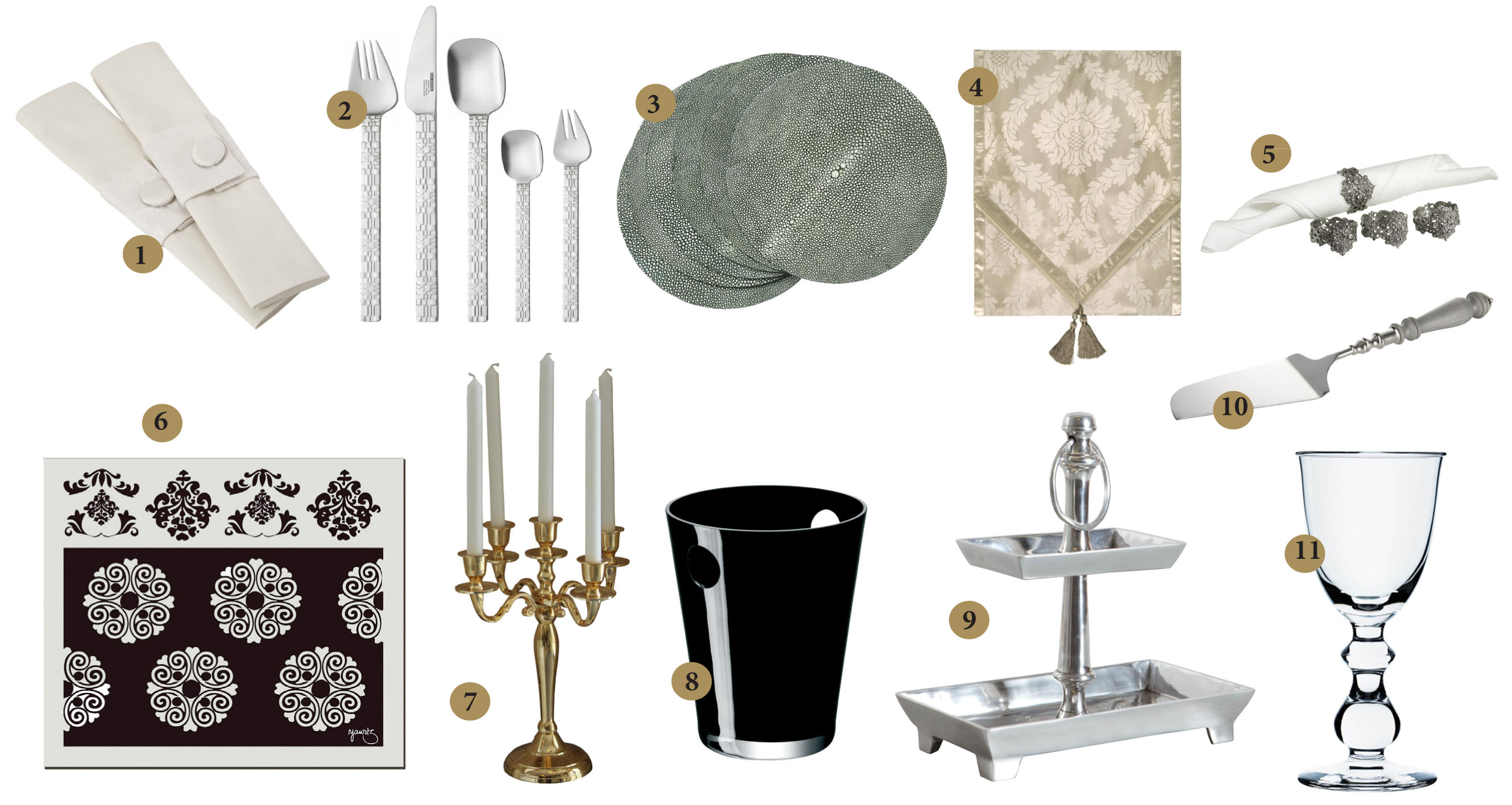 Elegant Dining Room Table Accessories