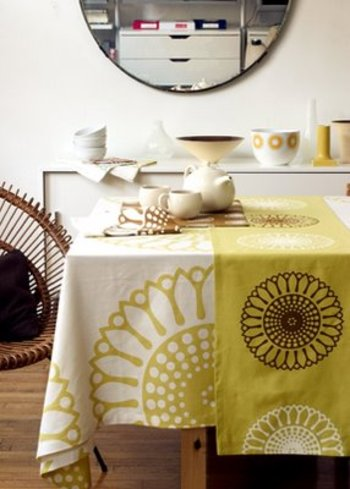Dining Room Tablecloth Photo   2