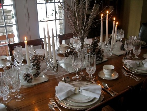 dining room tablescapes photo - 2