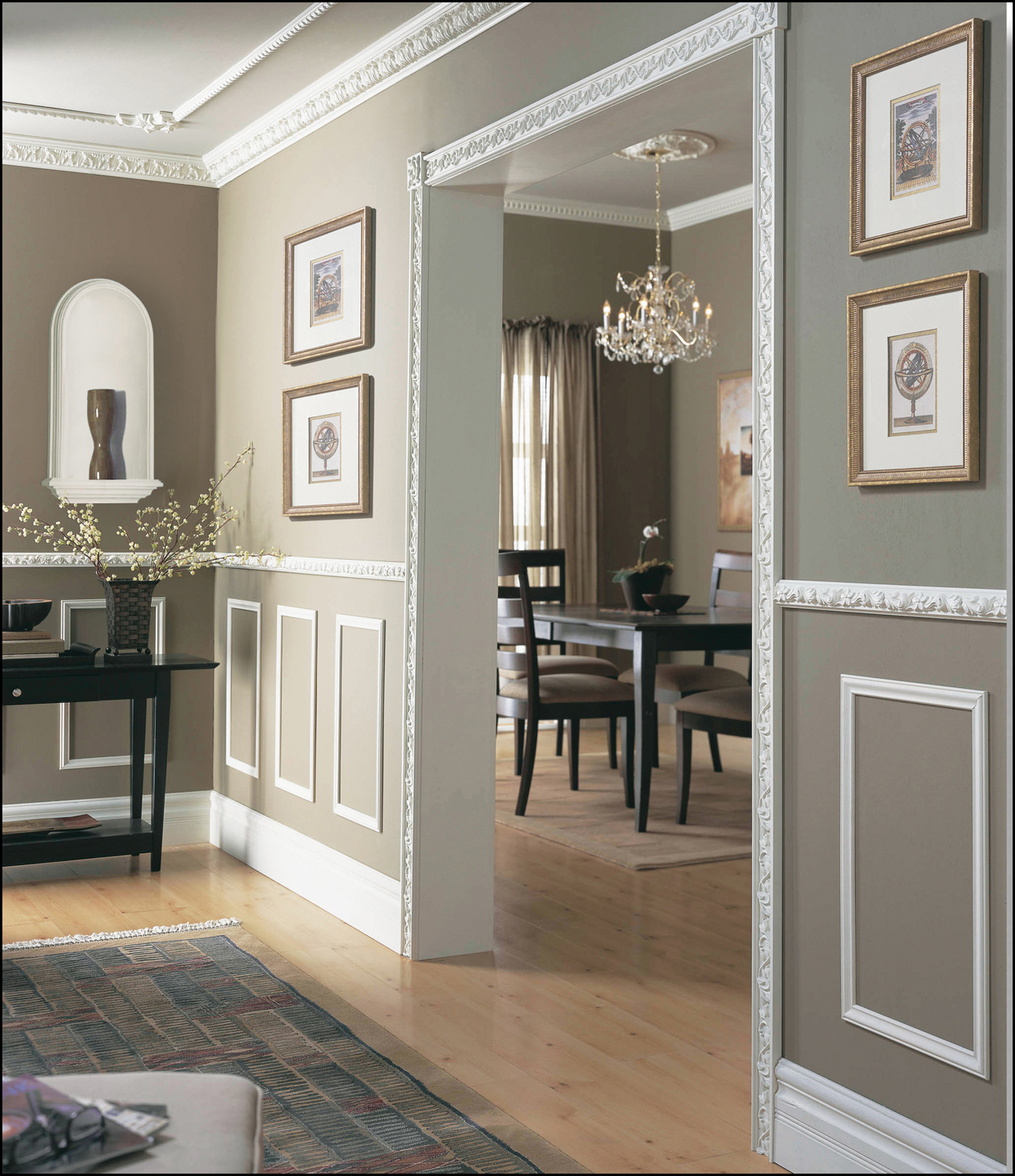 dining room trim ideas photo - 1