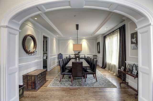 dining room trim ideas photo - 2