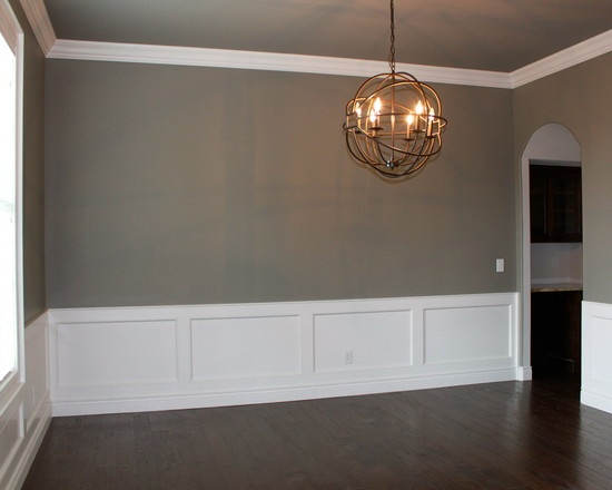 dining room wainscoting photo - 1