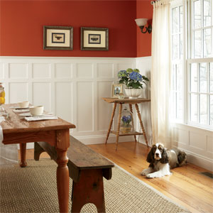 Wainscoting Design Ideas 4 tags traditional dining room with bennington wood fireplace mantel metal fireplace hardwood floors pendant smagnino home design ideas Dining Room Wainscoting Ideas Large And Beautiful Photos Photo To Select Dining Room Wainscoting Ideas Design