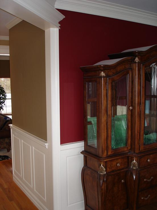 Dining room wainscoting ideas large and beautiful photos for Dining room wainscoting