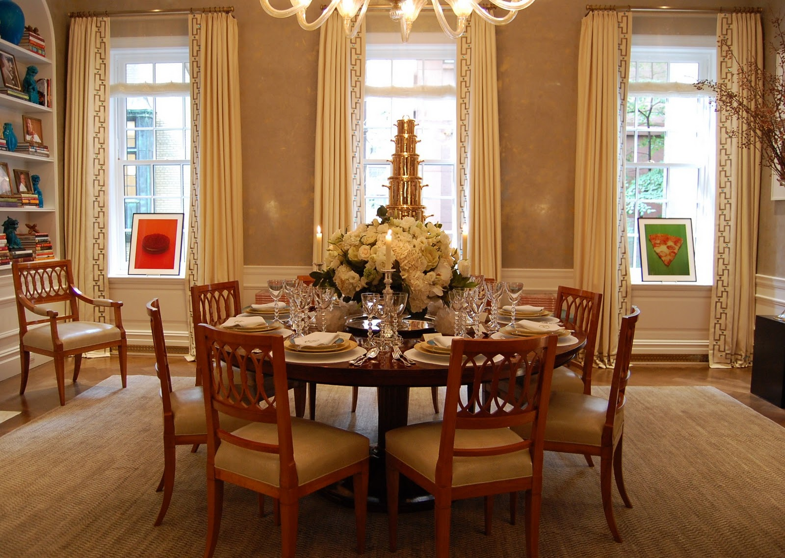 Dining room wall colors - large and beautiful photos. Photo to ...