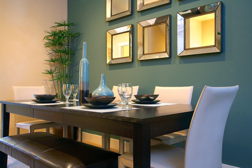 Dining room wall mirrors - large and beautiful photos. Photo to ...