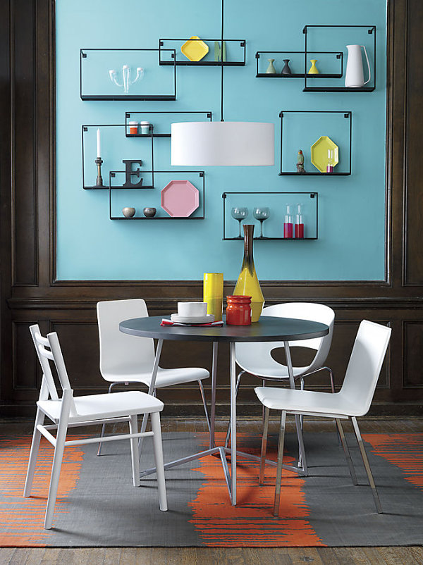 Charmant Dining Room Wall Shelves