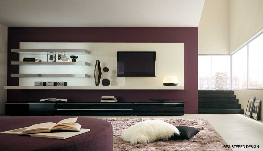 dining room wall units photo - 1