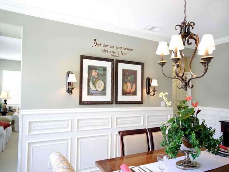 dining room walls photo - 1