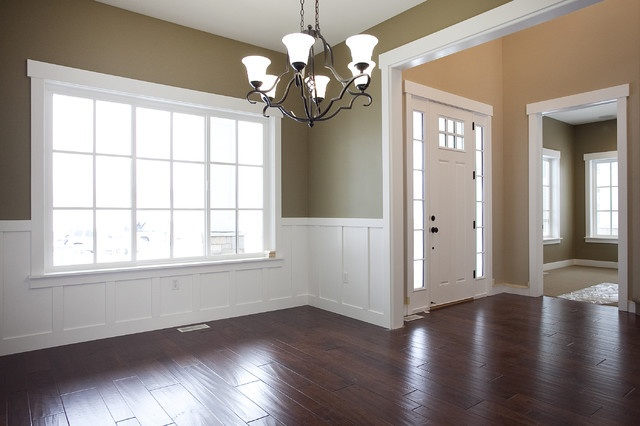 dining rooms with wainscoting photo - 2