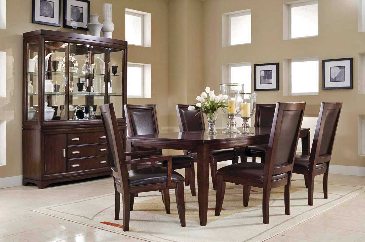 Dining table decorating ideas large and beautiful photos for Pictures of decorated dining room tables