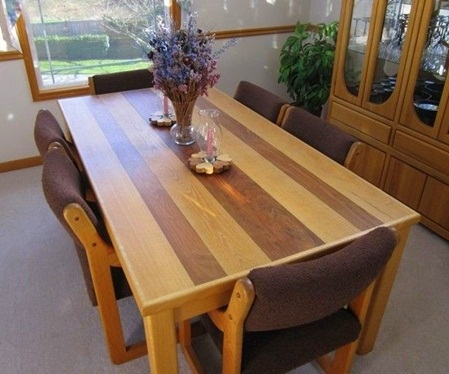 dining table design plans photo - 2