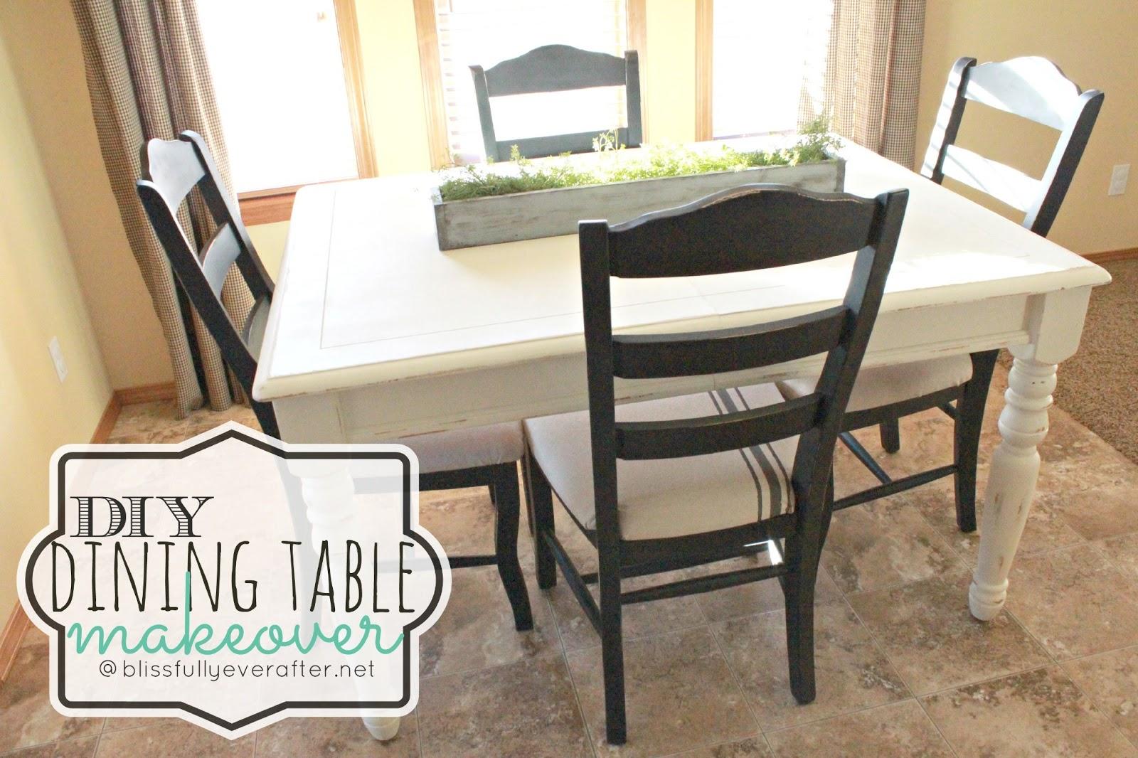 dining table diy photo - 2