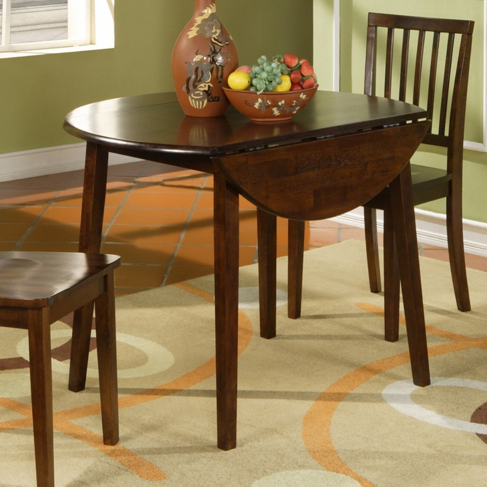 Dining table for small spaces large and beautiful photos for Low dining table