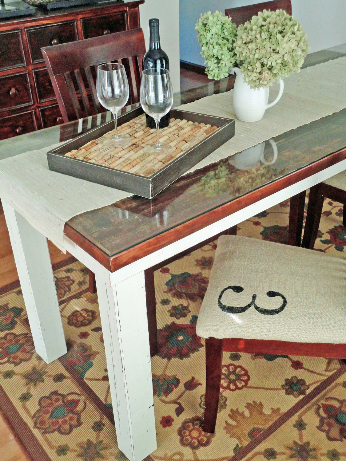 Dining table made from old door - Dining Table Made From Old Door