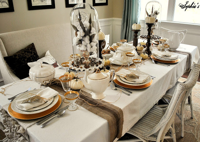Dining table setting ideas & Dining table setting ideas - large and beautiful photos. Photo to ...
