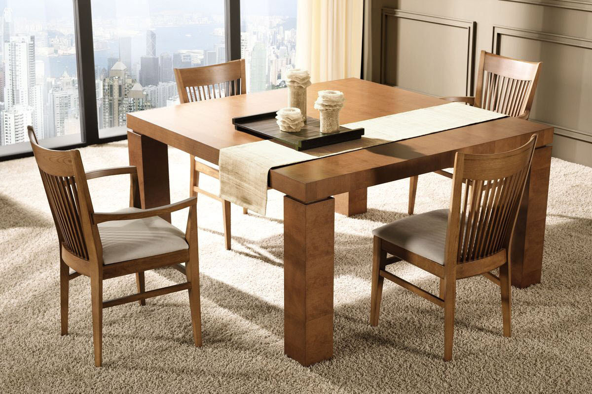 Dining table top ideas large and beautiful photos photo for Dining table design ideas