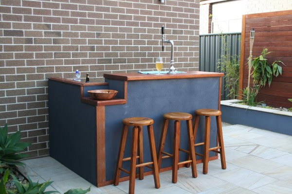 Superior Diy Backyard Bar