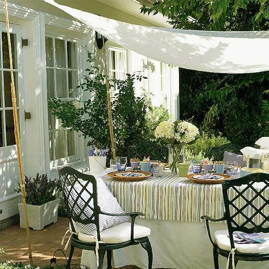 diy backyard canopy photo - 1