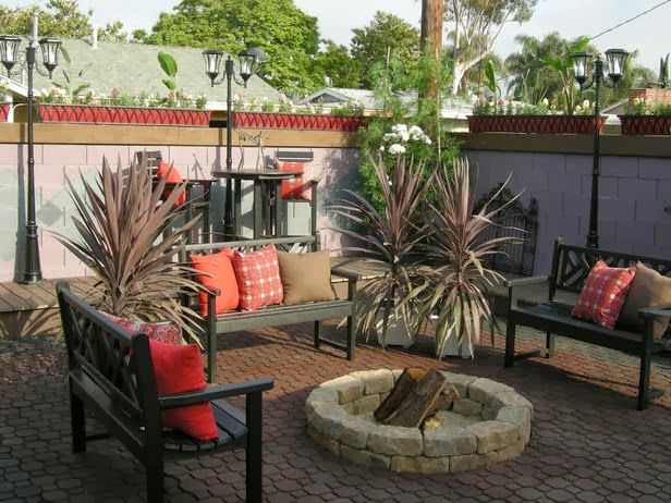 diy backyard fire pits photo - 1