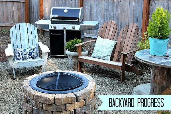 diy backyard makeover photo - 2