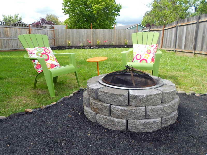 Simple Backyard Patios diy backyard patio ideas - large and beautiful photos. photo to