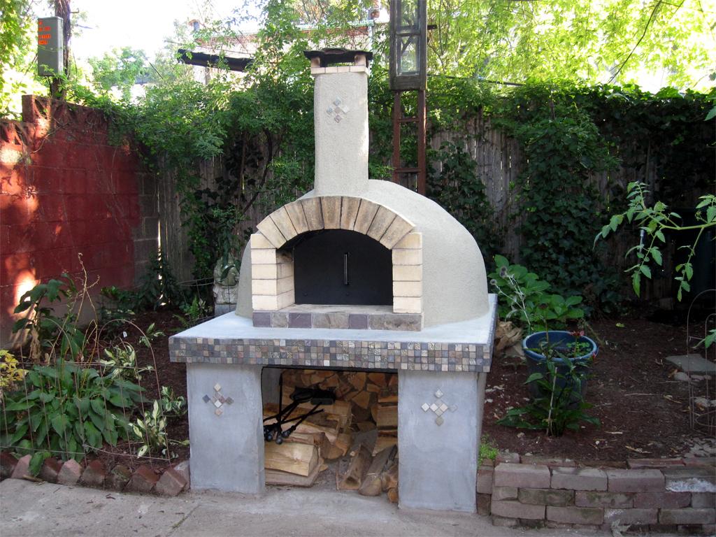 diy backyard pizza oven photo - 2