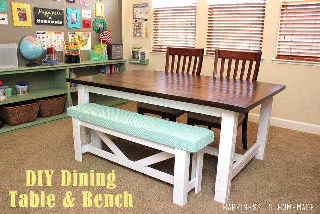 diy dining bench photo - 2