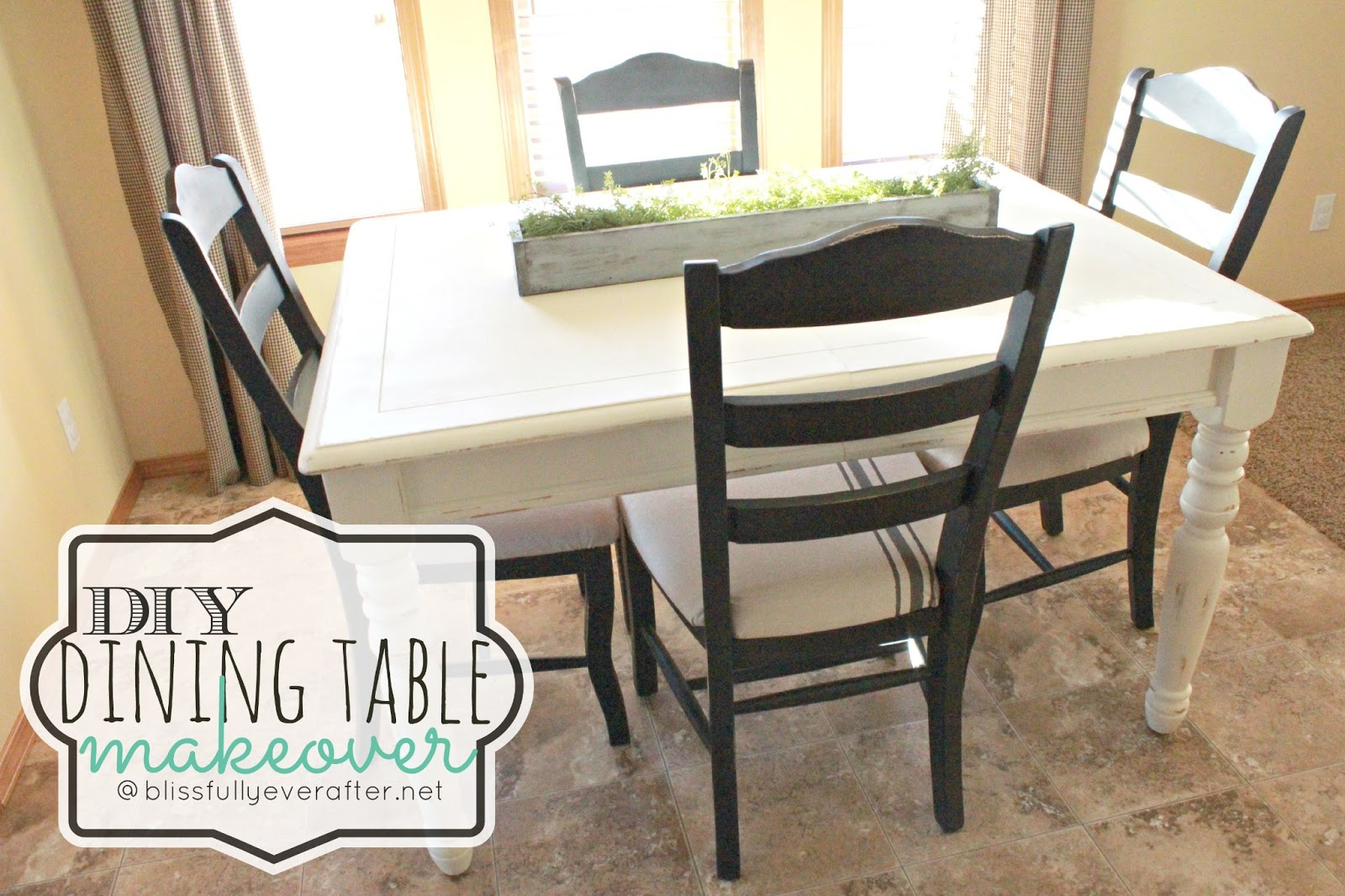 Diy Dining Room Table Ideas Photo