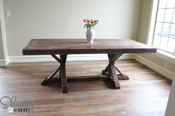 diy dining table plans photo - 2
